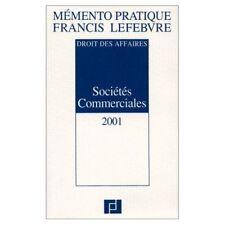 Livre Mémento pratique Francis Lefebvre