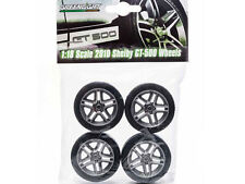 FORD SHELBY MUSTANG GT500 WHEELS AND TIRE SET 1/18 BY GREENLIGHT 12875
