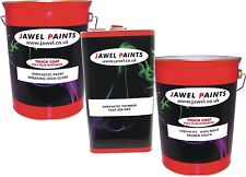 Car - Comercial Synthetic Paint SATIN BLACK   Primer & Thinners 15lt Kit