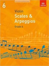 ABRSM Violin Scales And Arpeggios: Grade 6 2008-2011 - Sheet Music, New,  Book