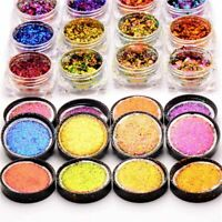 Nail Art Glitter Sequins Chameleon Irregular Flakes Foil Decoration Manicure DIY