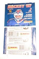 HOCKEY NHL 1987  Panini italy stickers - bustina pacchetto figurine