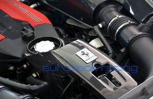 Ferrari 488 GTB / Spider Carbon Fiber Center Lock Plate / Oil Cover