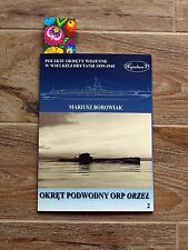 WW2 ORP ORZEL (85A) POLISH SUBMARINE ** pride of Polish Navy history pictures