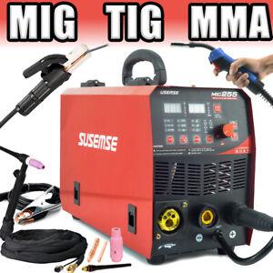 3 in 1 Schweißgerät MIG MAG TIG E-HAND 200A mit MMA Flux Fülldraht geeignet