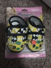 Dada Baby Shoes From Peru Black, Yellow, And White New with Box