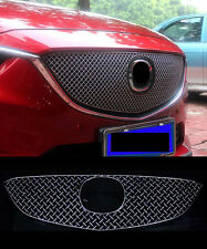 Front Grille Around Trim  Full Set for 2013-2016  Mazda 6 M6 Atenza Center Mesh