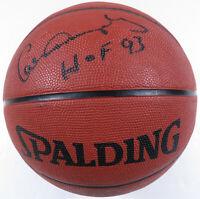 Calvin Murphy Houston Rockets Autographed Signed Spalding NBA Basketball JSA LOA