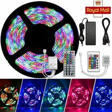 Waterproof 5-20 Meter Self Adhesive LED Strip Lights Adapter SMD Rope Kitchen UK