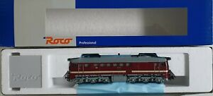 """Roco H0 63392 Diesellok BR 120 048-4 DR """"Taigatrommel"""" DSS  neuwertig Top m.OVP"""