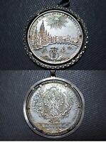Konventionstaler 1772-PCB Frankfurt Stadt Taler Silber Thaler Anhänger Münze
