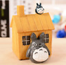 Wooden Mechanical Music Box Japanese Anime Totoro GHIBLI Toy Bday Gift Decor UK