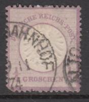 GERMANY - 1872 REICH Mi 16  cv 170$  very fine centered