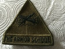 Usa Armor school shoulder patch subdued