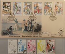 NEUSEELAND 1998 1659-64 Block 75 1492-97 LIMITED EDITION Multi Cultural Society