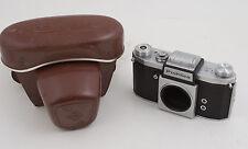 Praktica KW Camera USSR Occupied Germany (G3L) No Lens w/Case Praktiflex