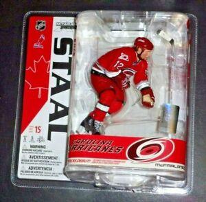 "2007 McFarlane NHL Carolina Hurricanes ERIC STAAL Action Figure 7"" Unopened/New"