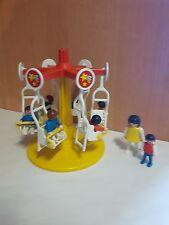 Playmobil 3195 Kinderkarussell von 1986 zum Puppenhaus mit 7 Kinder NR:1018