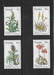 1977 TRANSKEI (SOUTH AFRICA) - MEDICINAL PLANTS - COMPLETE SET - MINT UNHINGED.