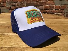 Bobos Beard Company Royal Blue Trucker Baseball Cap Hat Baseball Retro Snap Back
