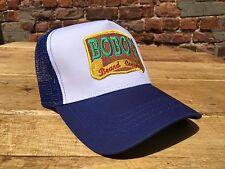 Bobos Beard Company Bleu Roi Camionneur Casquette Baseball Retro