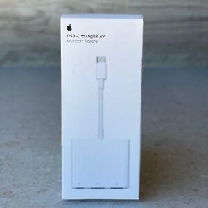 Apple MUF82AM/A USB-C Digital AV HDMI Multiport Adapter - GENUINE OEM - OPEN BOX