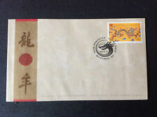 CANADA 2000 46 CENT LUNAR YEAR OF THE DRAGON  FDC