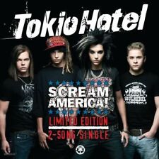 TOKIO HOTEL - SCREAM AMERICA! LIMITED EDITION 2-SONG - CD single 2T 2007