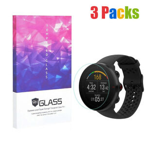 For Polar Vantage M Tempered Glass Screen Protector 9H Hardness (3 Packs)