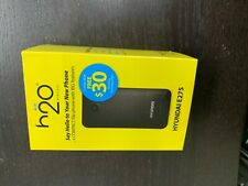 H2O H2o Wireless Prepaid Mobile Cell Phone, Sim Card & $30 Plan! At&T Network
