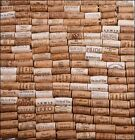 NATURAL ASSORTED BORDEAUX NAPA VALLEY WHITE WINE CORKS LOT FOR ARTS & CRAFTS