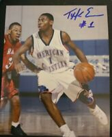 TYREKE EVANS SIGNED 8X10 PHOTO HS SHOT NBA PACERS KINGS F W/COA+PROOF RARE WOW