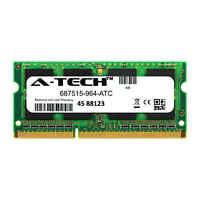 4GB DDR3 PC3-12800 1600MHz SODIMM (HP 687515-964 Equivalent) Memory RAM