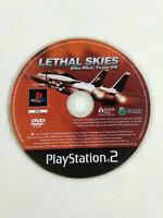 Jeu Playstation 2 PS2 en loose VF Lethal Skies Elite Pilote Team SW  Envoi suivi