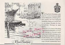 KÖLN, Werbung 1934, Haus Neuerburg Overstolz Zigaretten Ravenklau Güldenring