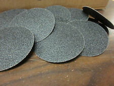10pc 3 60 Grit Roloc Cookie Discs Silicon Carbide Sanding Disc Roll Lock Type R