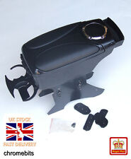 Black Armrest Arm Rest Console for Opel Vauxhall Astra Vectra Calibra Zafira NEW
