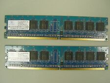 512 MB DELL Non-ECC SDRAM 240-pin PC-4200 NANYA NT512T64U88A0BY-37B (E702)
