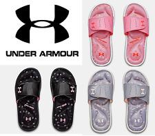 Under Armour Youth Girls Ignite Ix Swerve Sandals Slides Flip Flop Shoes 3022734