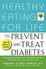 Healthy Eating for Life to Prevent and Treat Diabetes-ExLibrary