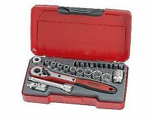 Teng T1424 Socket Set of 24 Metric 1/4in Drive Tent1424