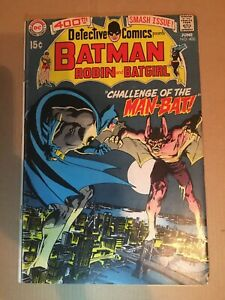 DETECTIVE COMICS 400 1st First Appearance MAN-BAT Neal Adams Batman NICE SHAPE!!