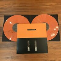 Nitzer Ebb Showtime 2LP Deluxe Collectors Edition Orange Vinyl 6 Bonus Tracks