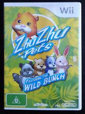 Wii - Zhu Zhu Pets Featuring The Wild Brunch (Includes Manual)