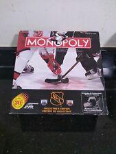 Rare Monopoly board game NHL Collectors Edition