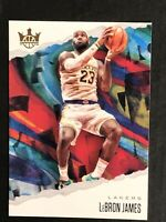 2019-20 PANINI COURT KINGS LEBRON JAMES BASE CARD SP #3 LOS ANGELES LAKERS SSP