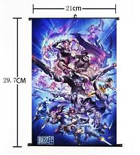 """Hot Japan Anime Overwatch Whole Art Home Decor Poster Wall Scroll 8""""x12"""" 05"""