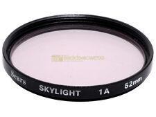 52mm. filtro Skylight 1A Sears. Sky light filter.