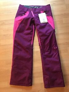 Oakley Snowboard Ski Pants Small Purple Pink