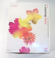 New Sealed Adobe Illustrator CS Windows XP Software Upgrade & Video Workshop Tra